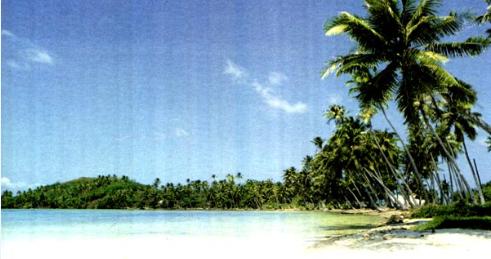 富饶的西沙群岛