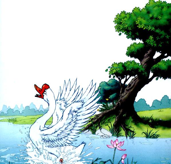 第十四课 白公鹅 - 四年级上册 - 智慧山
