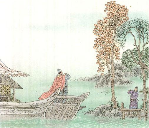 二年级上册 第二十五课 古诗两首-赠汪伦         赠汪伦 李白乘舟将