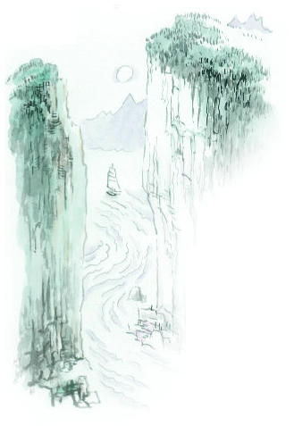 古诗两首望天门山_第二十一课 古诗二首 望天门山 - 三年级上册 - 智慧山