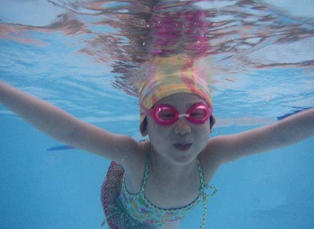 兒童游泳的好處
