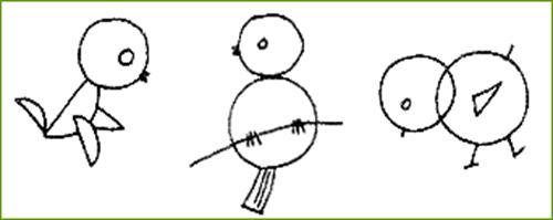 四年级手绘简单小鸡