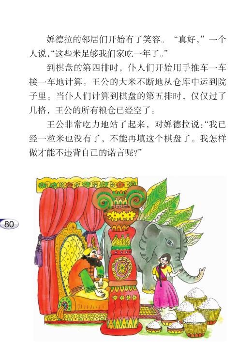 第二十课 印度王公的大米