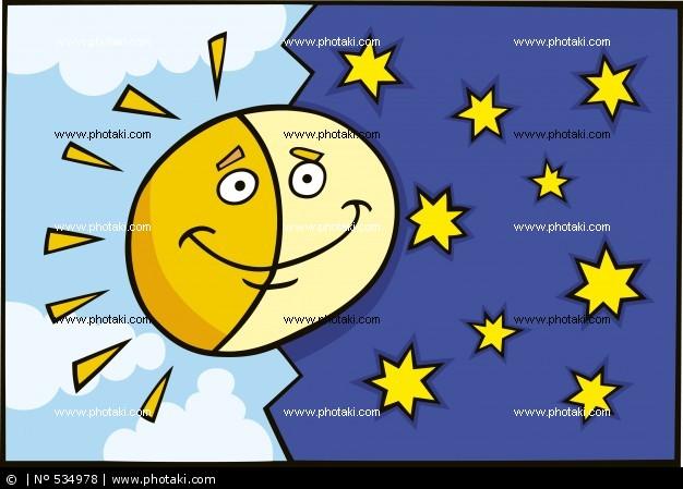 太阳和月亮qq表情_太阳和月亮qq表情分享展示