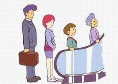 大人和小孩都应该知道的——自动扶梯乘坐安全常识