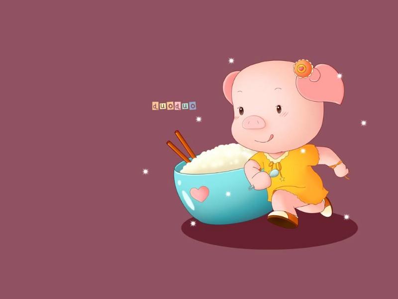 小猪唏哩呼噜和他的弟弟