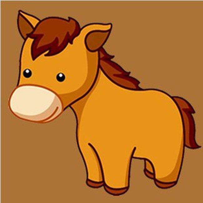 微信头像可爱小马