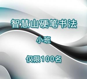 【暑期特惠】硬笔书法精品班二期 (3个月12节课)