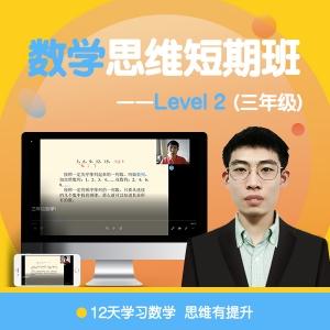 数学思维短期班 Level 2 (三年级)